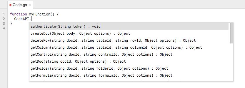 Coda API (v1beta1) Reference Documentation